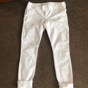 Gap Maternity White Jeans 30L